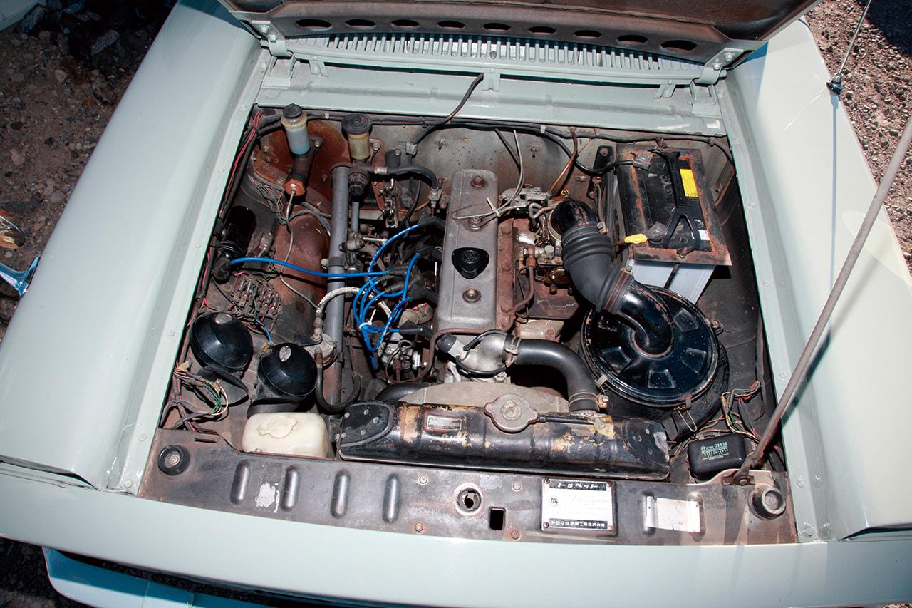スタウトのエンジン