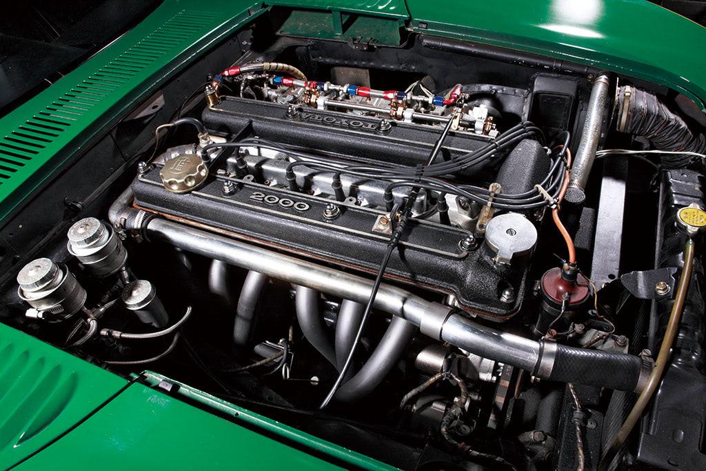 トヨタ2000GT スピードトライアル エンジン 3M