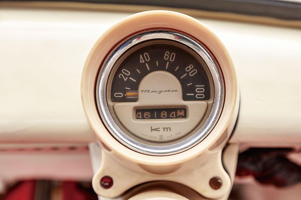 ツダR360クーペ メーター