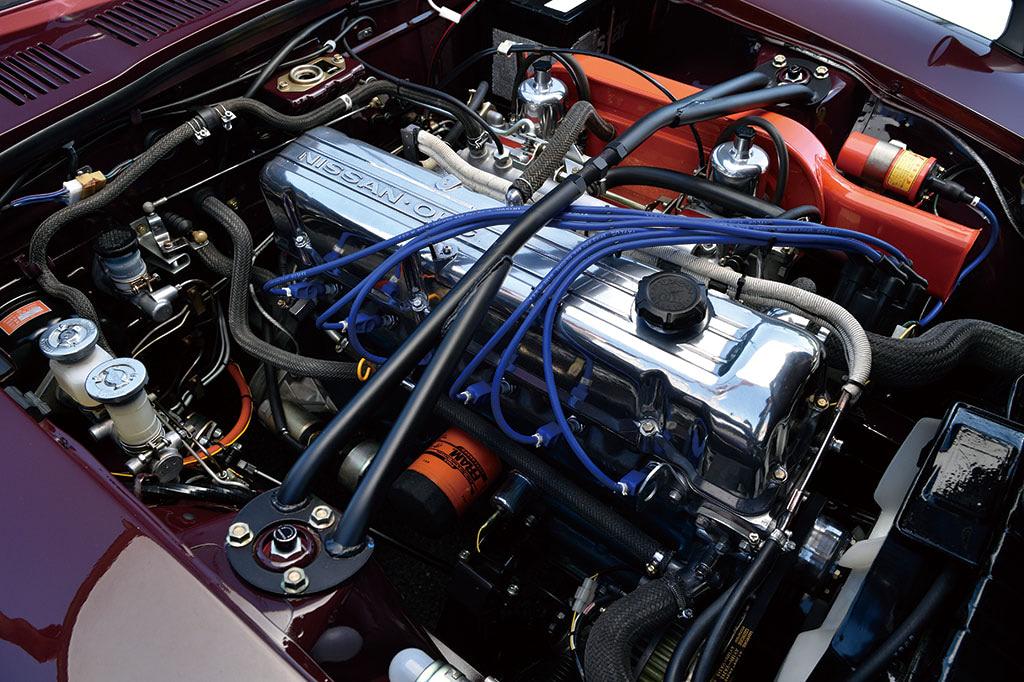 フェアレディZ 240ZG エンジン