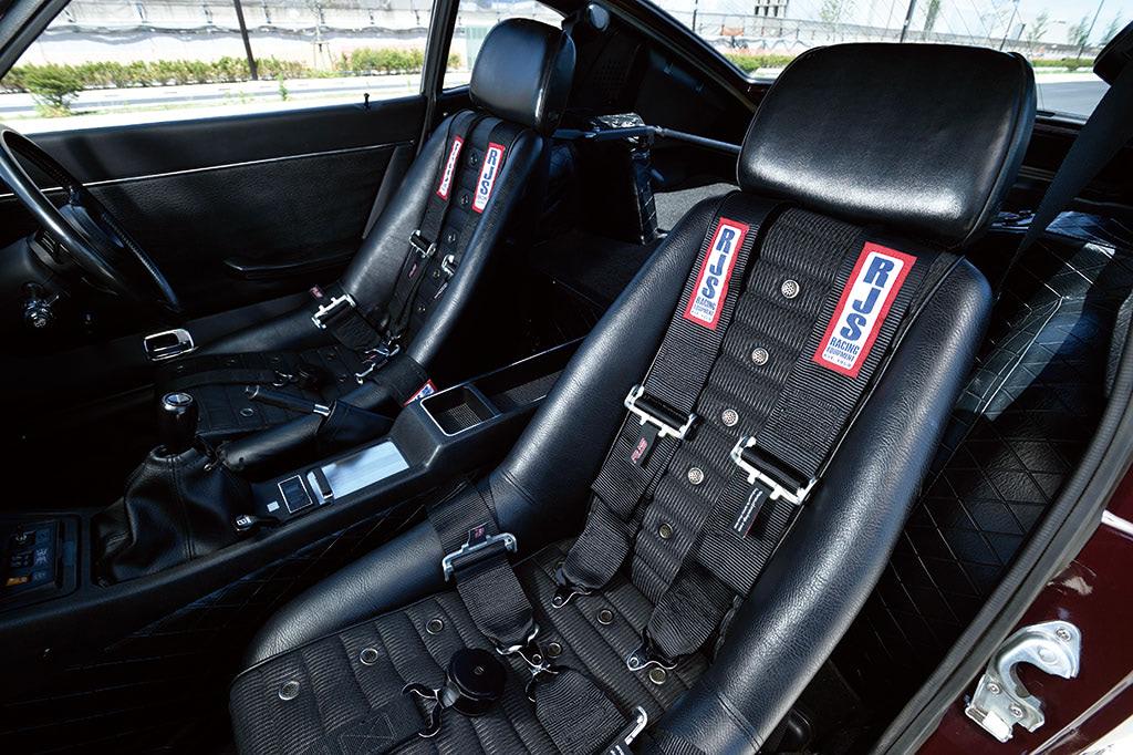 日産 フェアレディZ 240ZG シート