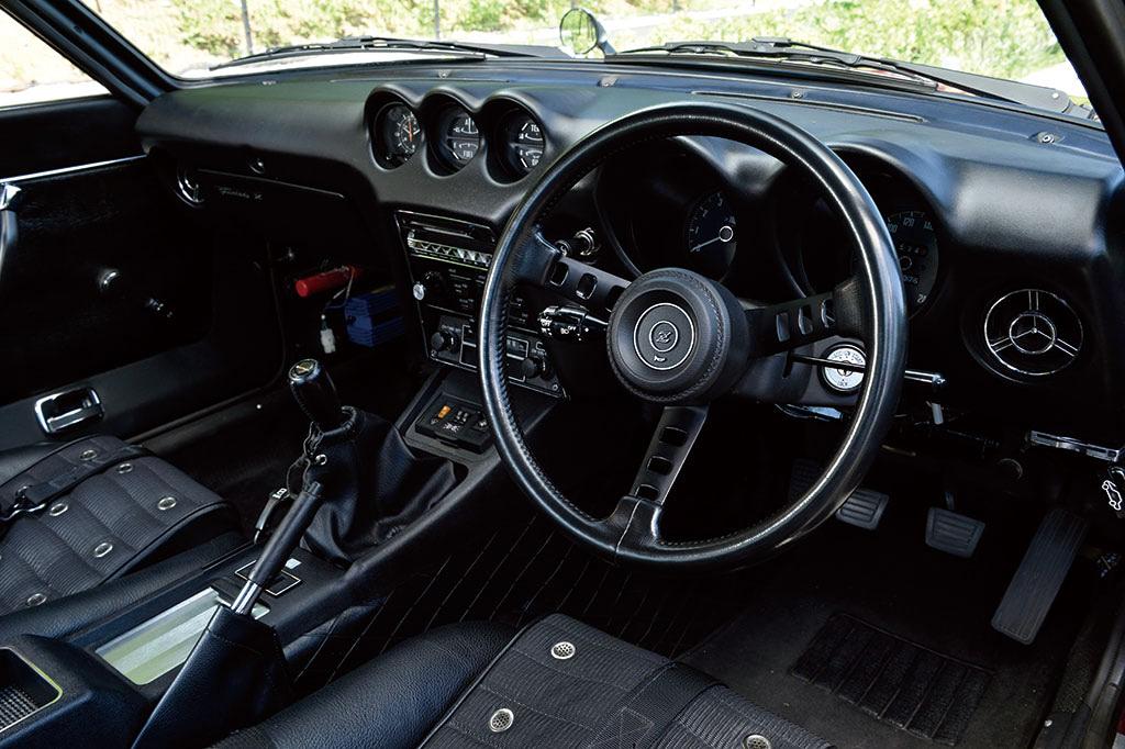 日産 フェアレディZ 240ZG 内装