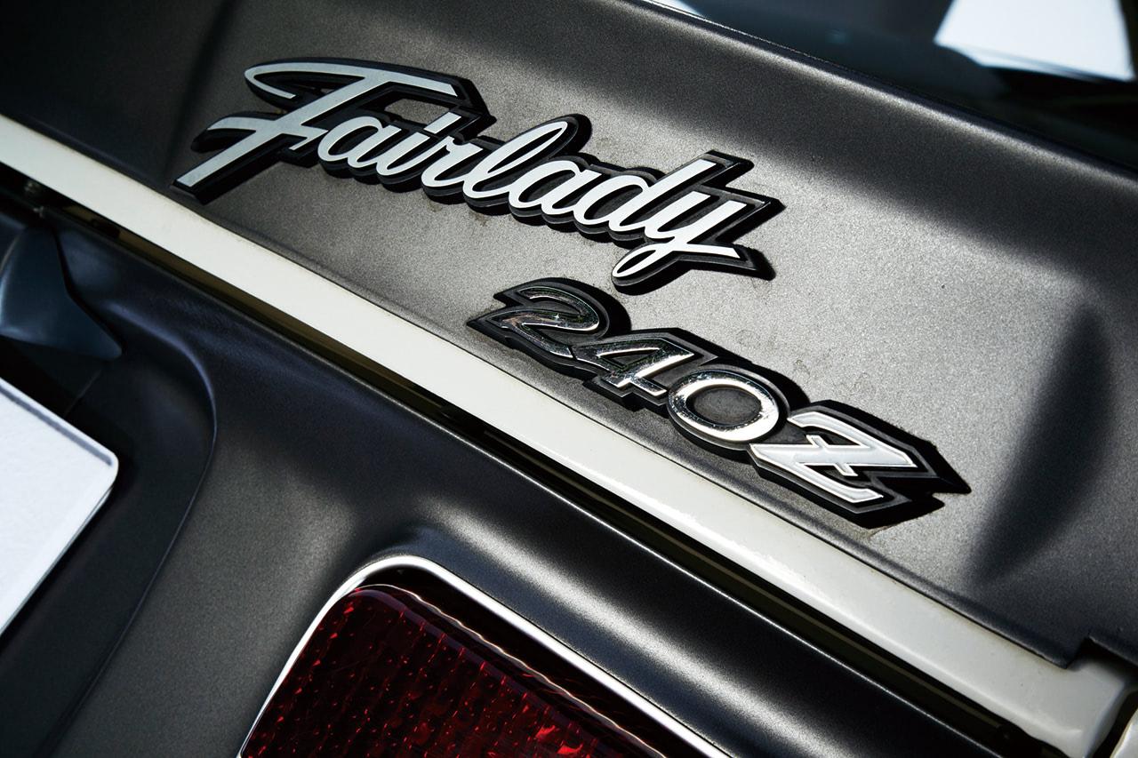 フェアレディの40ZGのリアエンブレム
