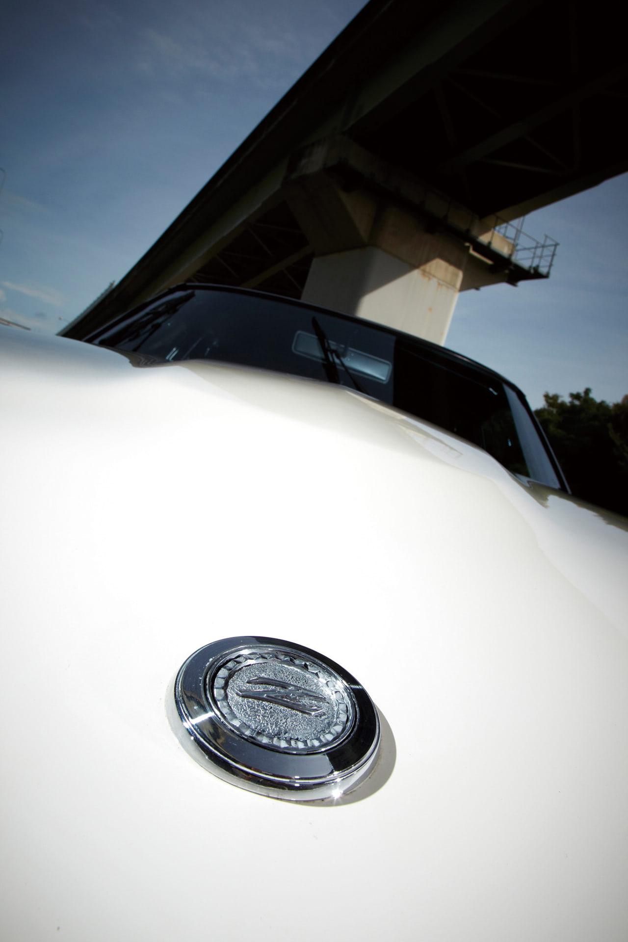 フェアレディの40ZGのエンブレム