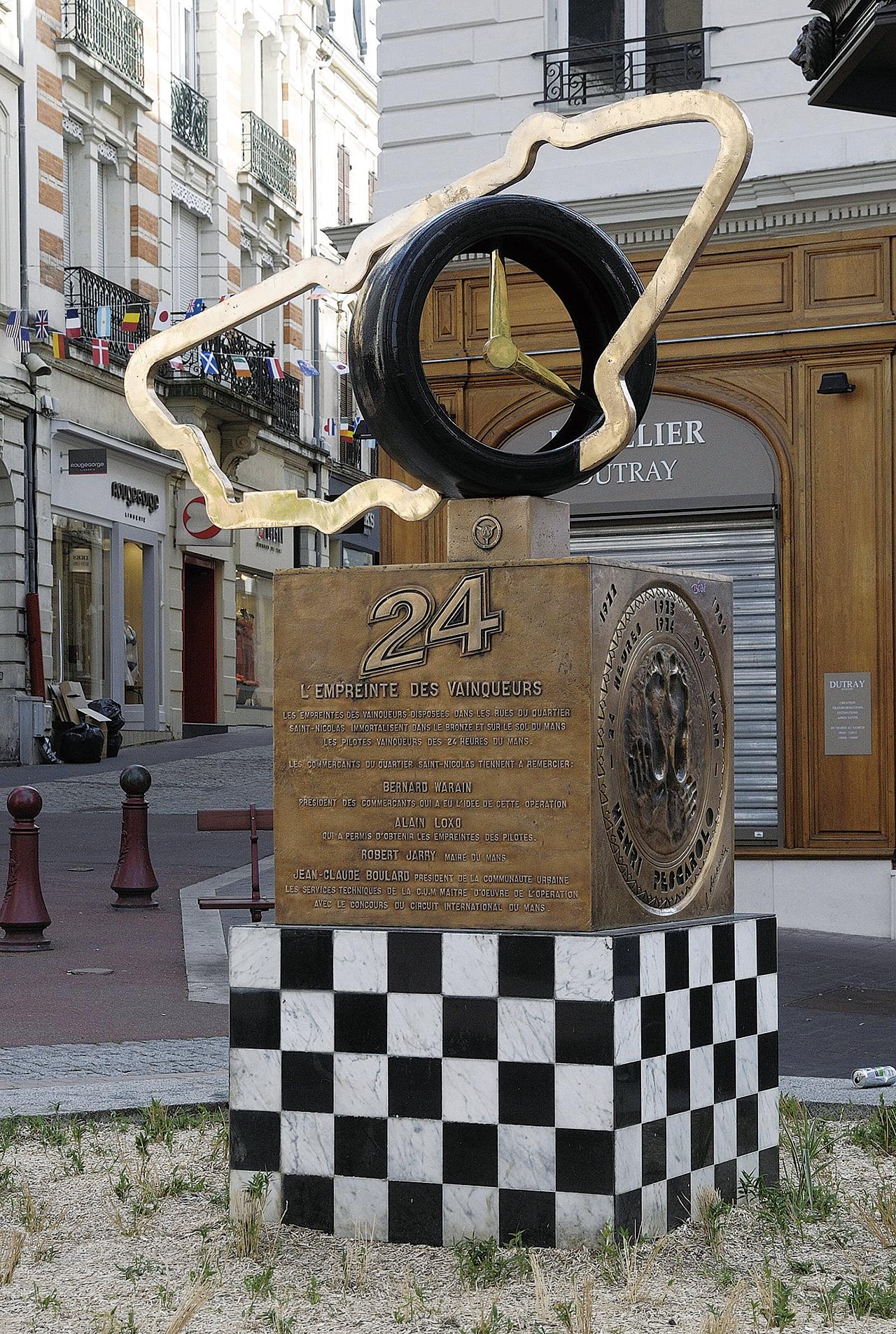 ル・マン24時間レースの記念碑