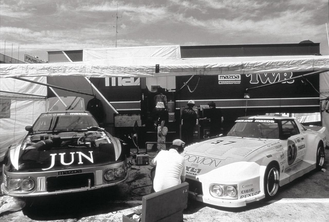 1981年ル・マン24時間レースマツダ参戦車両