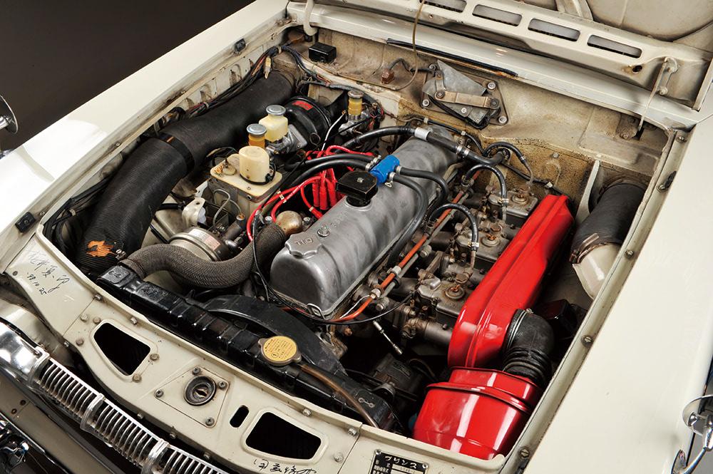 日産 プリンス スカイランGT-B エンジン