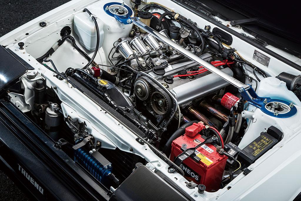 スプリンタートレノ AE86 エンジン