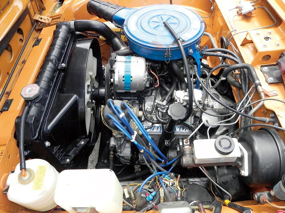 エンジン本体 13B型ロータリー