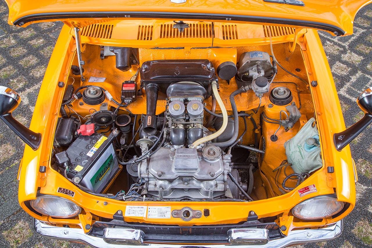 ホンダZのエンジン