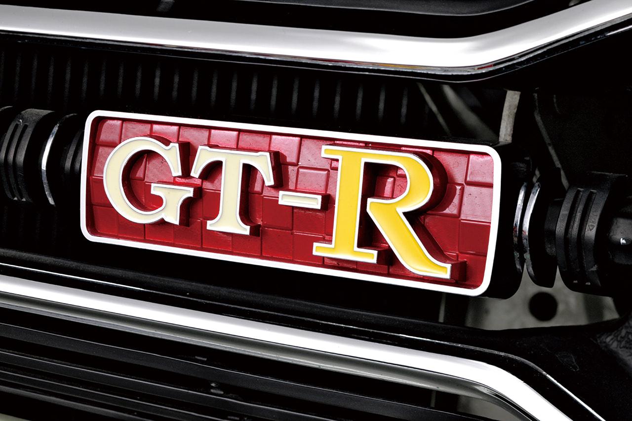 4ドア GT-Rエンブレム