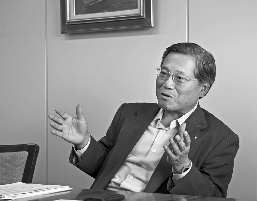 Person: Kawasaki Kisen Kaisha Co., Ltd.Managing Executive Officer Eiichi Murakami