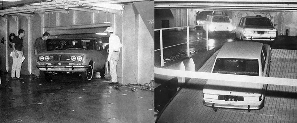 Car carrier Vessel interior