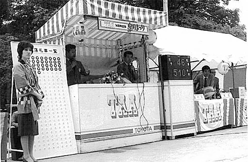 1970年代の中古車オークション