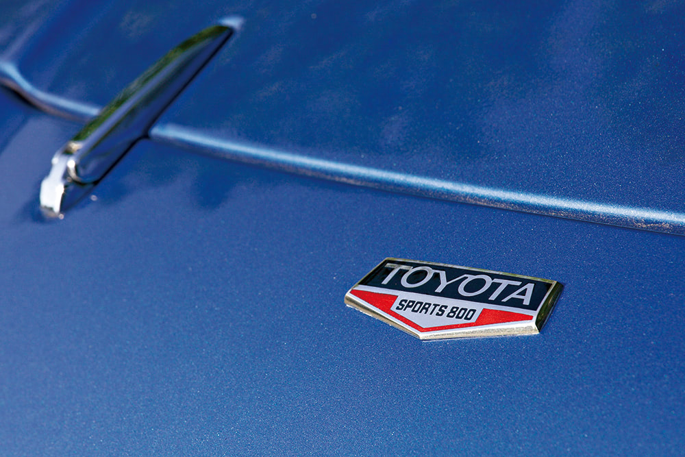 トヨタスポーツ800のエンブレム